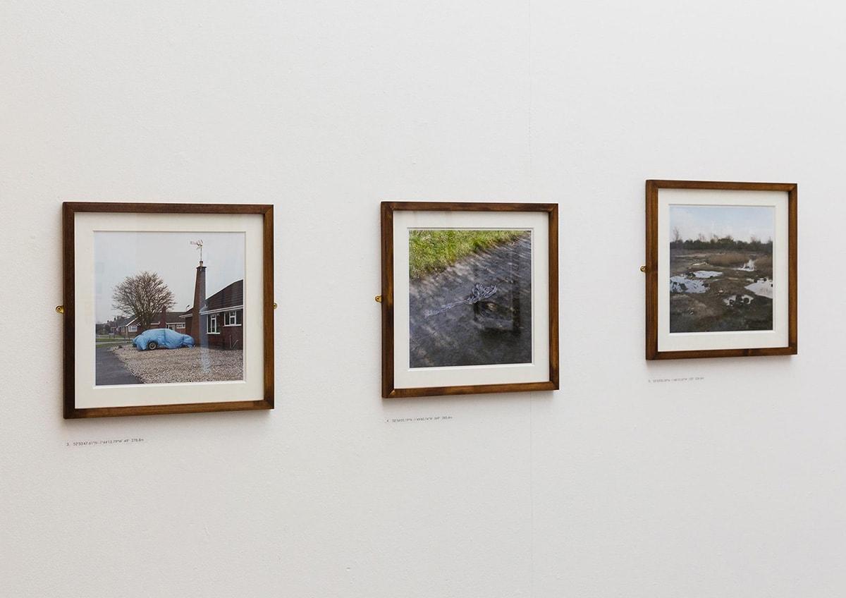 Installation of Tom Illsley 's series 'Meridian'.